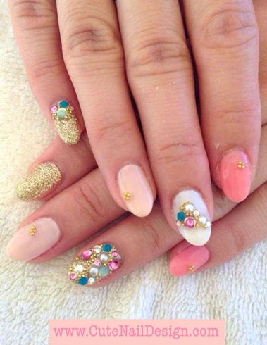 Jewelry nails