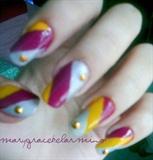 **7th Nail Art. :D