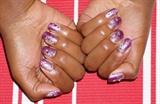 Purple Gradient Glitter