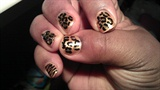 Gold Animal Print w/stripes 2