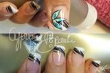nail art fleur