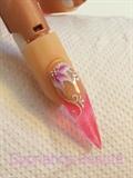 nail art vitrail