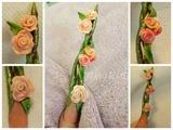 Nail art Bouquet de Roses