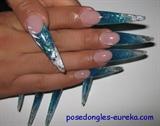 stiletto turquoise silver 3