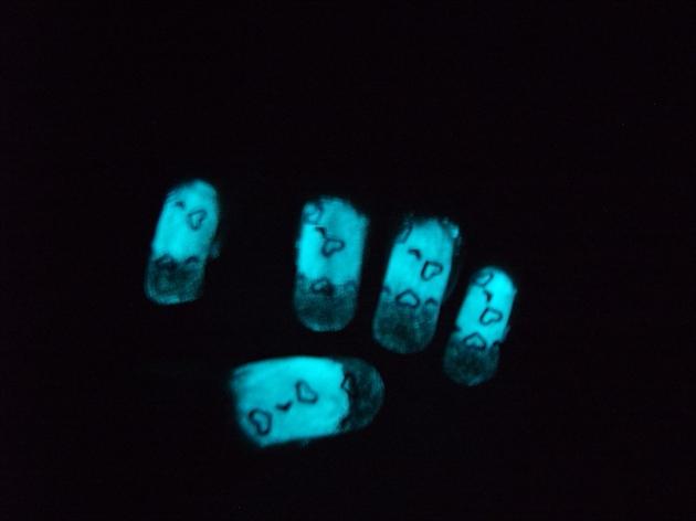 Glow N The Dark Resin Nail Art Gallery