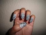 Polka Polka Dot Nails