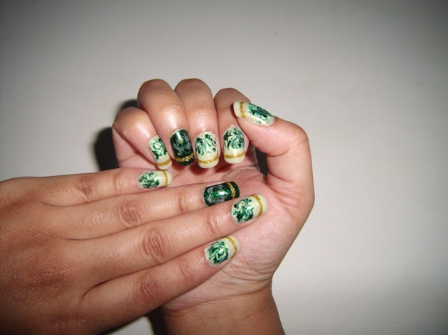 Green Marble Design