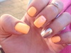 Orange And Silver Chrome