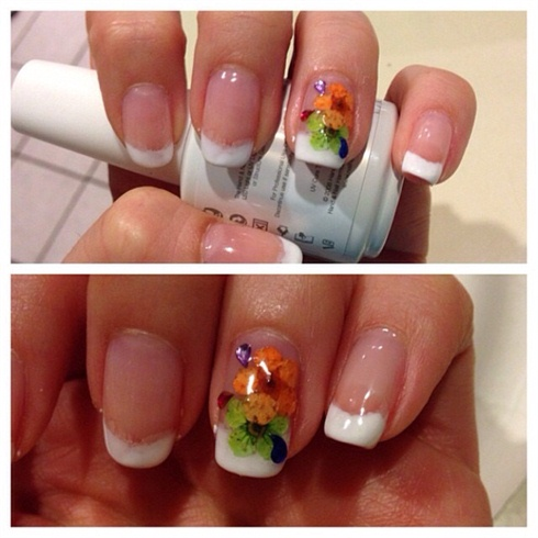 Bright Flowers by DairyQueen21 from Nail Art Gallery