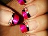 Pink & Orange Tips
