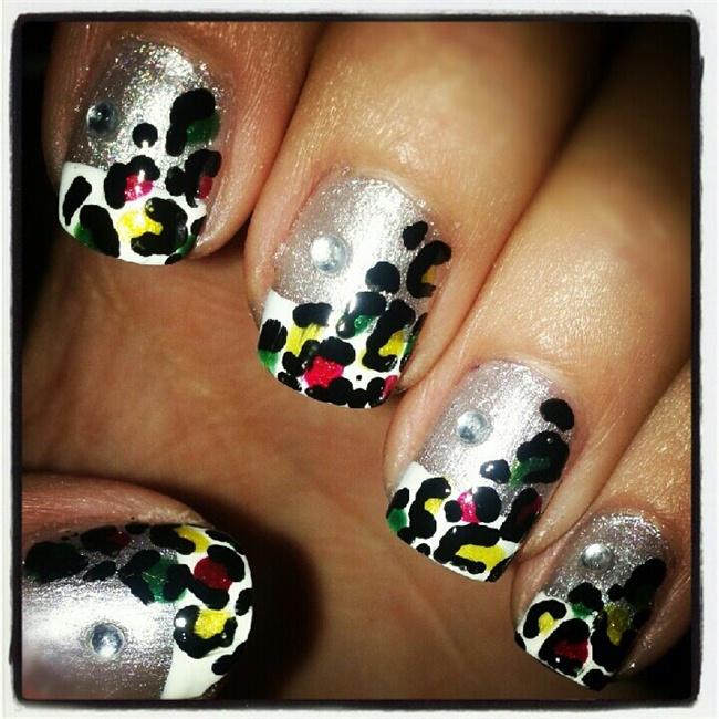 Acrylic Nail Designs Rasta: Top simple nail art designs arts. Simple ...