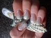 acrylic nail, hand-painted