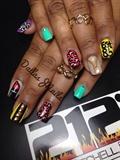 Team Aries nails