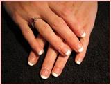 Natural nail French