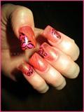 Peachy Pink Leopard Design