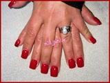Classic Red Manicure