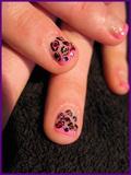 Natural Nail Genstone Manicure