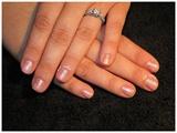 Natural Wedding Nails