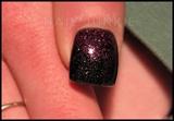 Gelish Polish & Pressed Glitter Fade