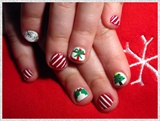 Kid Christmas Nails
