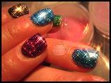 Glitter Bomb in Rainbow!!