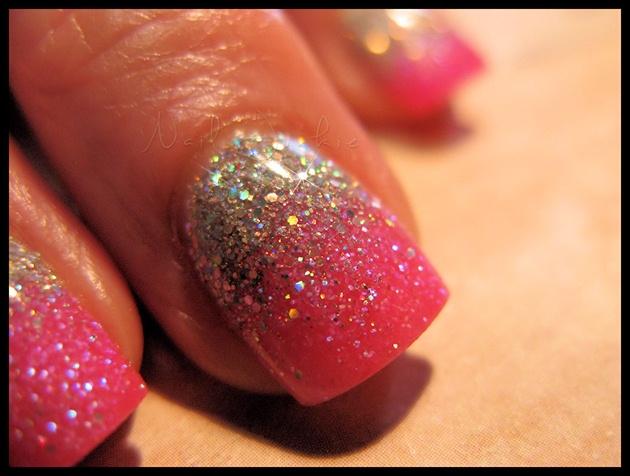 Barbie Glitter Fade