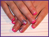 Girly Pink & Purple Design