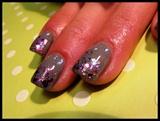 Grey & Glitter Fade