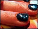Glitter Fade Gel Polish Mani
