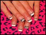 Zebra French Tip