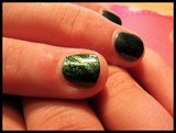 Homecoming Green Nails