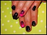 Halloween Gel Manicure