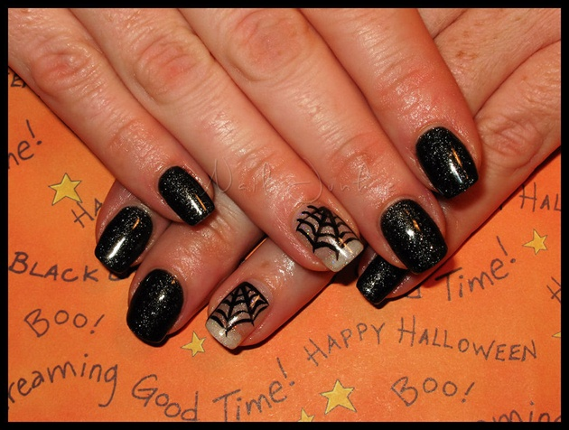 Spiderweb Gel Manicure
