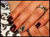 Spooky Halloween Manicure