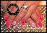 Pink & Swirl Stripes