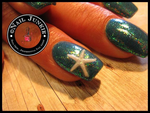 Starfish Vacation Nails