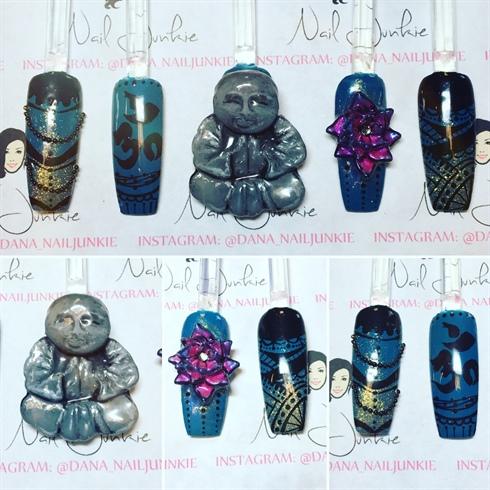 Buddha Nails