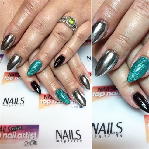 Mermaid Glitter & Chrome!