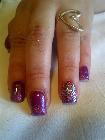 disco ball + sparkle