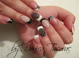 nail art: OliveraV.:)