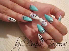 nail art: Maja:)