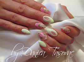 nail art: Ceca...