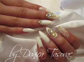 nail art: Marija...