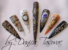 Mix nail art