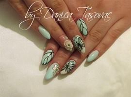 nail art: Dajana S...