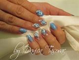 Anita...blue orchids..