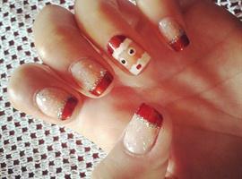 nail art: Christmas III
