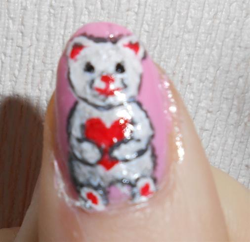Valentine's Heart Teddy Bear