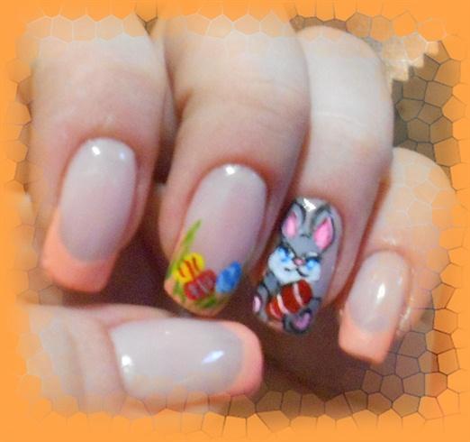 Easter Bunny Nails: Nail Art Gallery