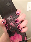 Muddy Girl Camo Nail Art